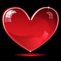 Free Red Shiny Heart Stock Images - 28023954