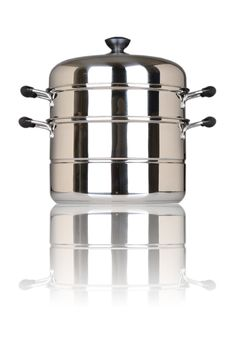Free Stainless Steel Pot Stock Image - 28022221