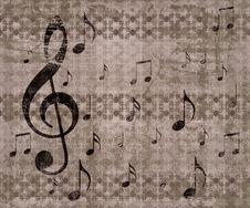 Free Vintage Music Background Stock Images - 28022584