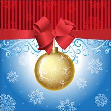 Free Christmas Ball Royalty Free Stock Photo - 28022955
