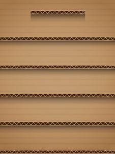 Free Cardboard Shelf Royalty Free Stock Photo - 28028445