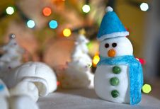 Free Christmas Sugar Decoration Royalty Free Stock Photo - 28029265