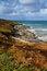 Free Fall Autumn On The Cornwall Coast England Royalty Free Stock Photos - 28027758