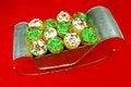 Free Cupcakes In Santa&x27;s Sleigh Stock Image - 28039461