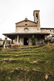 Old Tuscan Church Royalty Free Stock Image
