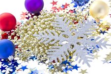 Free Christmas Snowflake Stock Photos - 28034553
