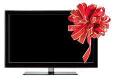 Free Tv Gift. Royalty Free Stock Photo - 28035885
