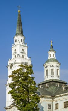 Free Church Of Petropavlovsk In Riga, Latvia Royalty Free Stock Photo - 28036595