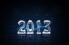 Free A Happy New Year 2013 Royalty Free Stock Image - 28039806
