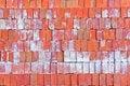 Free Red Clay Bricks. Stock Image - 28040111
