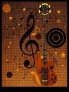 Free Vintage Music Guitar Background Stock Photo - 28040380