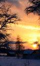 Free Sundown At 14:30 Stock Photography - 28046552