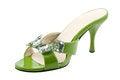 Free The Green Shoe Stock Photos - 28048223