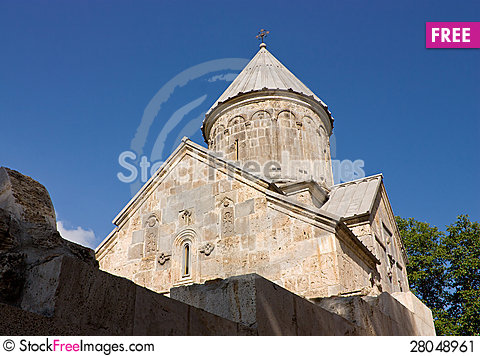 Free Armenian Church. Stock Image - 28048961
