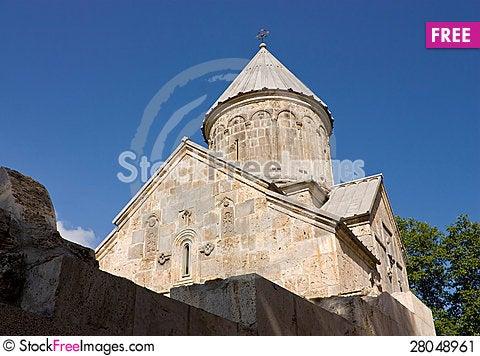Free Armenian Church. Stock Image - 28048961