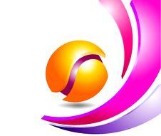 Free Colorful Logo Background Stock Image - 28040681