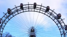 Free Big Ferries Wheel In Vienna Royalty Free Stock Photos - 28042658