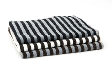 Free Stack Of Towels Royalty Free Stock Photo - 28043245