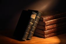 Free Old Books Royalty Free Stock Photography - 28044237
