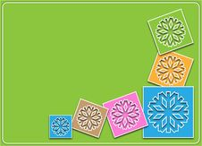 Free Winter Background In Pastel Colors Royalty Free Stock Images - 28044489