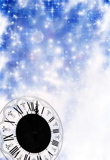 New Year S At Midnight Stock Image