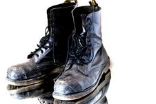 Free Used Boots Stock Image - 28046441