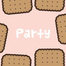Free Party Biscuit Background Royalty Free Stock Photo - 28047535