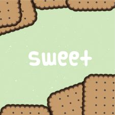 Free Sweet Biscuit Background Royalty Free Stock Photography - 28047537