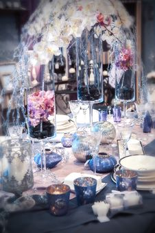 Free Party Table Stock Photos - 28048253