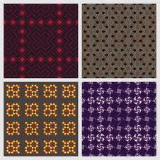Free Abstract Seamless Patterns Stock Photography - 28049342