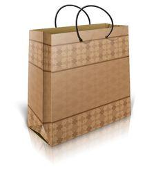 Free Brown Shopping Bag Stock Photos - 28055423