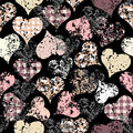 Free Hearts Pattern Stock Photography - 28061512