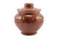 Free Clay Pot With A Cover Stock Photography - 28068232