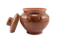 Free Clay Pot With A Cover Royalty Free Stock Photo - 28068235