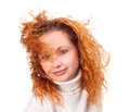 Free Girl With Flying Hair Royalty Free Stock Photography - 28068407