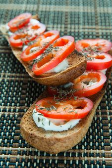 Free Fresh Bruschetta Stock Photo - 28060130
