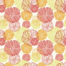 Free Flower Pattern Royalty Free Stock Images - 28061079