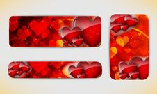 Free Valentines Day Banner Royalty Free Stock Image - 28062966