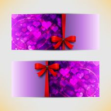 Free Valentines Day Cads Royalty Free Stock Photos - 28062968