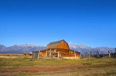 Mormon Barn Royalty Free Stock Photos