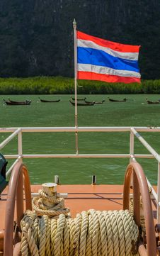 Free Thai Nation Flag Stock Image - 28065121