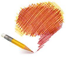 Free Pencil Shading Royalty Free Stock Photography - 28065667