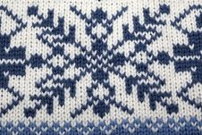 Knitted Background Stock Images