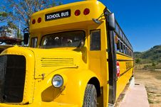 Free Yellow School Bus Stock Photo - 28066670