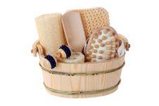 Massage Supplies Stock Image