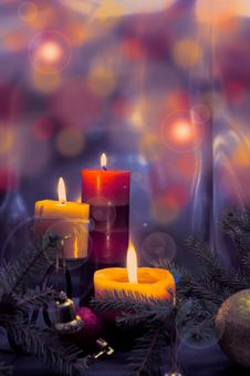 Candles Royalty Free Stock Images