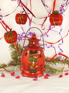 The Red Lantern Stock Photo