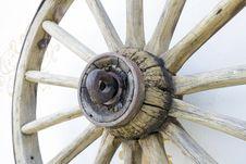 Free Wooden Wheel Royalty Free Stock Image - 28072626