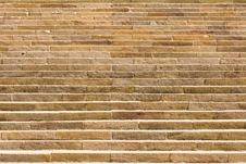 Free Large And Long Sandstone Staircase Royalty Free Stock Image - 28075016