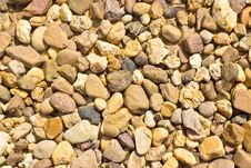Free Color Pebble Stones Texture Royalty Free Stock Photo - 28075385